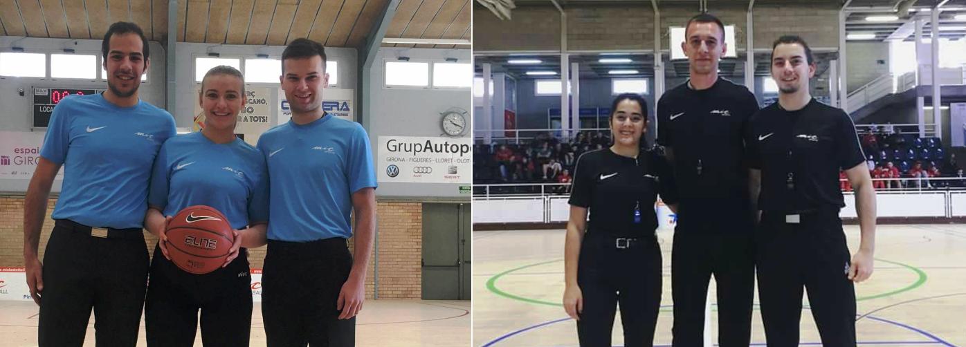 Млади македонски судии дел од турнирот MicBasketball 2018 во Шпанија