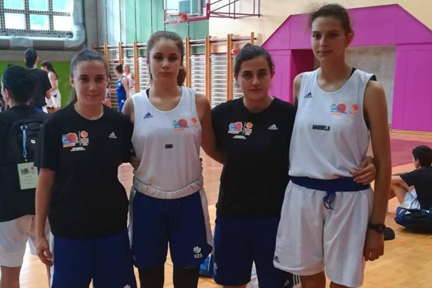 Финишира кампот за кошаркарки во Постојна, Словенија