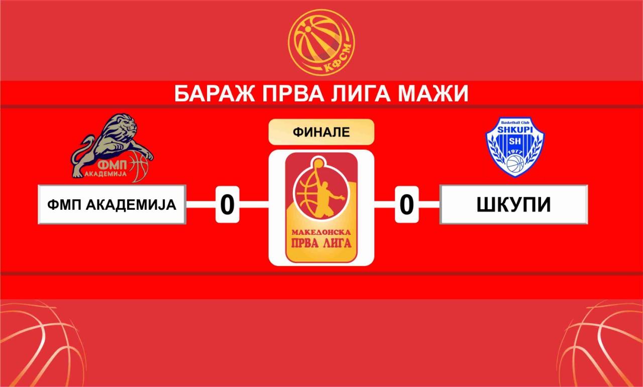 Борба за Прва лига: Академија ФМП или Шкупи?!