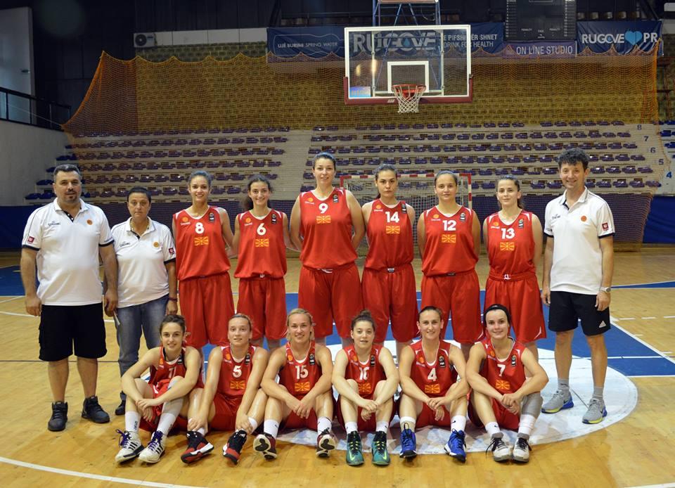 Историја на настапи на М18 репрезентација (ЖЕНИ)