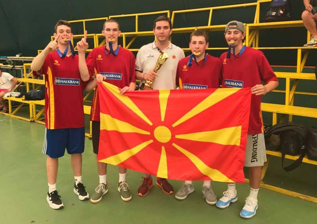 Селекцијата 3х3 го освои првото место на Олимпискиот фестивал во Бугарија