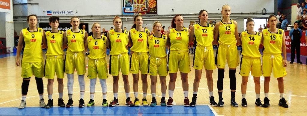 Список на кошаркарки повикани за јуниорска репрезентација