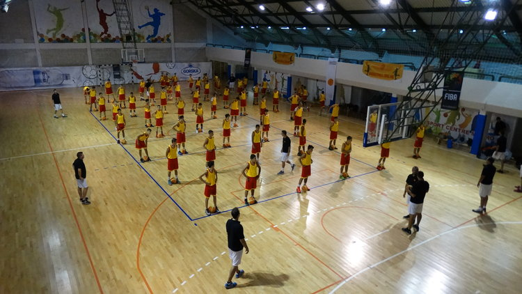 """МКФ со уште еден проект """"Заедно до М16"""" за кошаркари и за кошаркарки"""