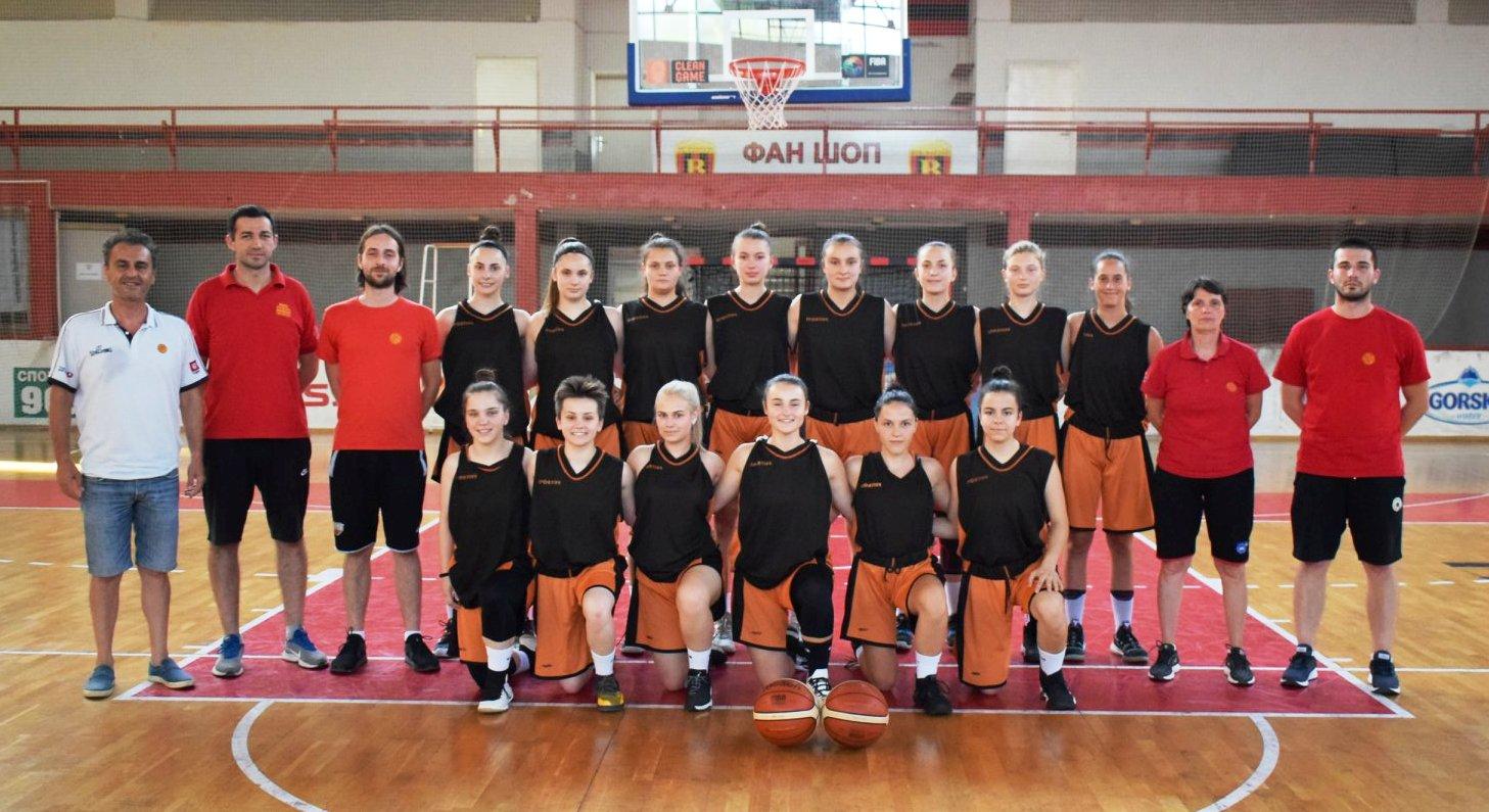 Кадетките ги пречекуваат Црна Гора, Бугарија и Босна и Херцеговина на пријателски турнир