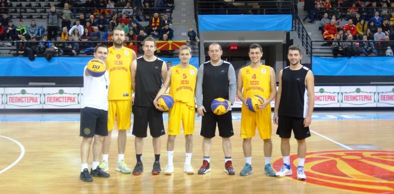 Ревијален 3х3 натпревар на полувремето на Македонија - Словачка