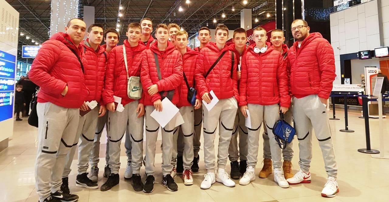 Список на кошаркари повикани за тренинг на селекцијата до 15 години (мажи)