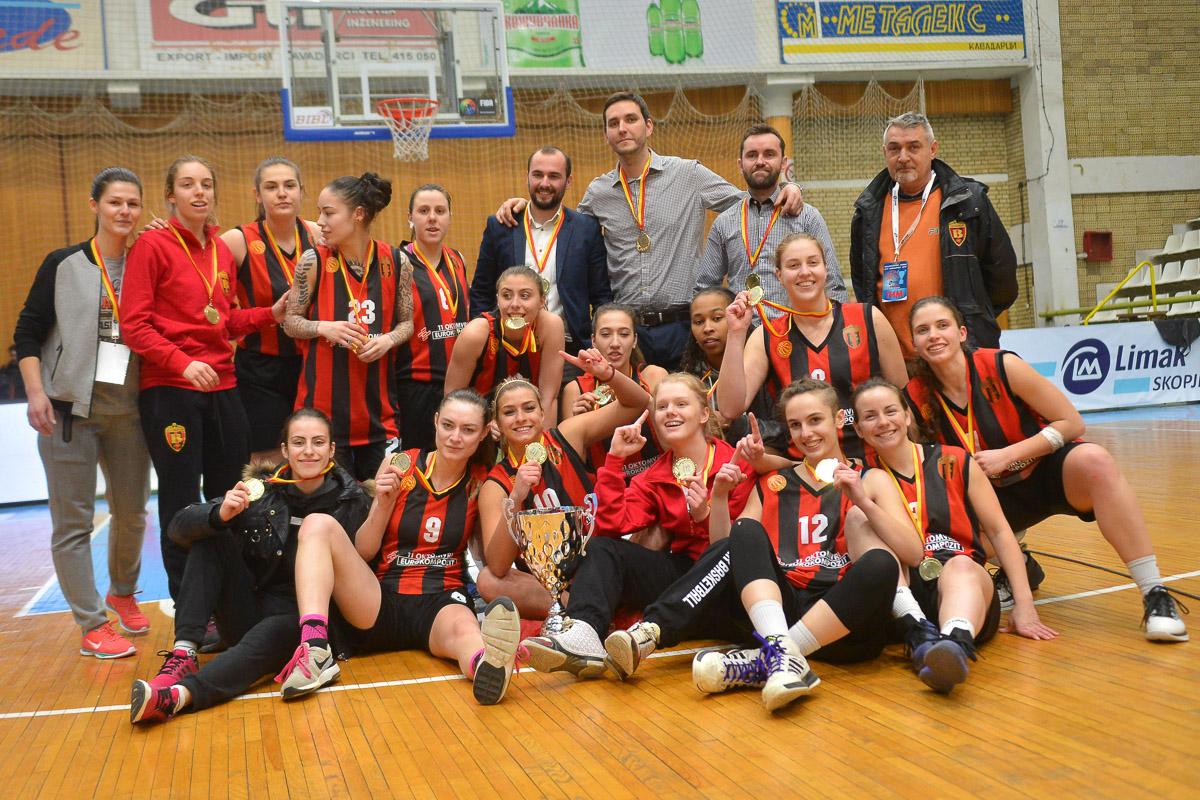 ФОТО: Вардар освојувачи на ЛИМАК КУП НА РМ во женска конкуренција