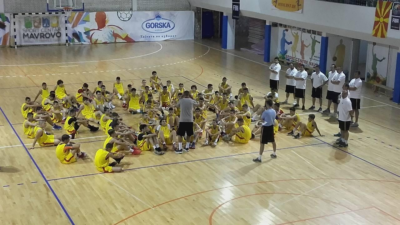 ФОТО+ВИДЕО: Како се одвиваше кампот за млади кошаркари во Маврово