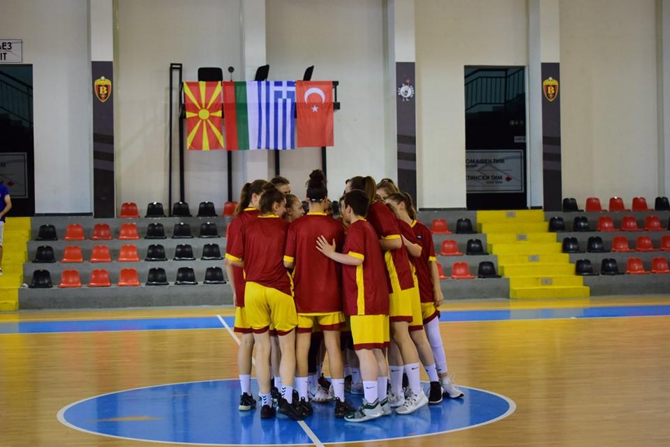 Две победи и еден пораз за јуниорките на турнирот во Скопје
