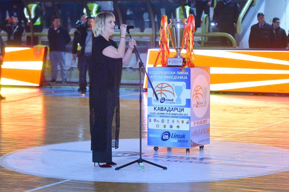 ВИДЕО: Изведбата на химната на РМ од страна на Тамара Тодевска