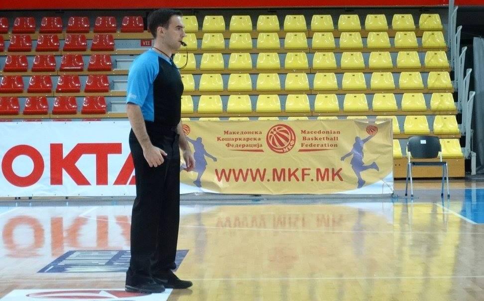 Александар Давидов дел од официјалните лица на F4 на Балканската БИБЛ лига
