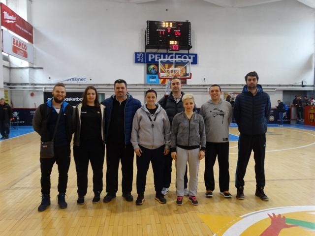Одржан првиот селективен тренинг за кошаркарки родени 1999/2000 односно 2001/2002 година