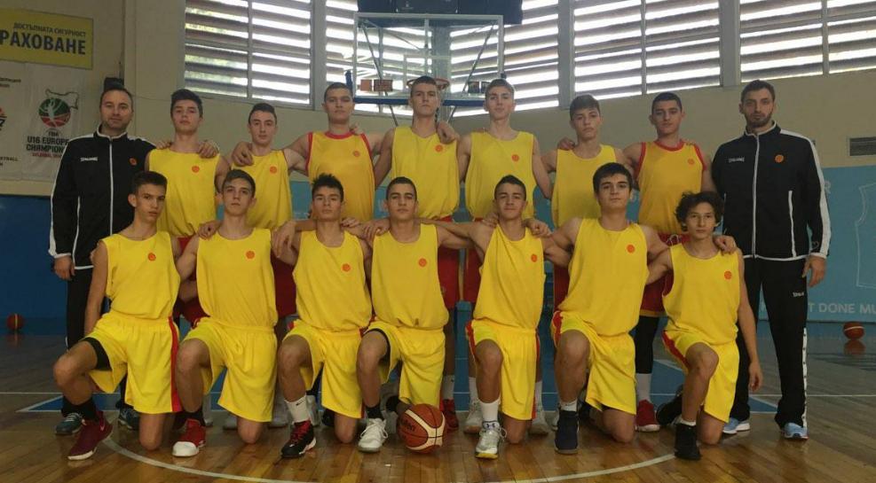 Одржан тренинг на репрезентацијата до 15 години во Бугарија