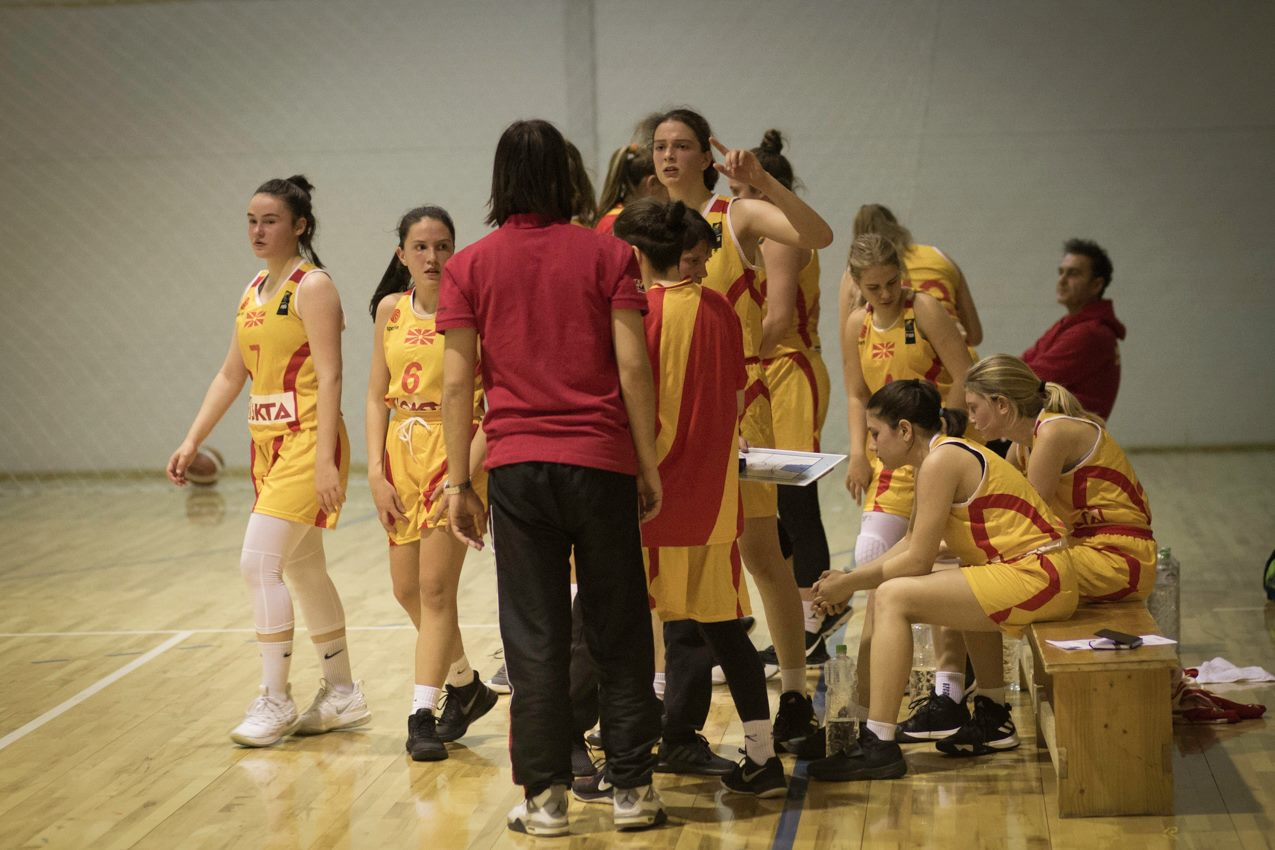 Селективен тренинг за кошаркарки до 16 години