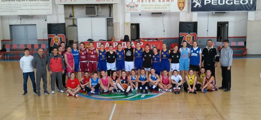 Поширок список на кошаркарки повикани за репрезентација до 16 години