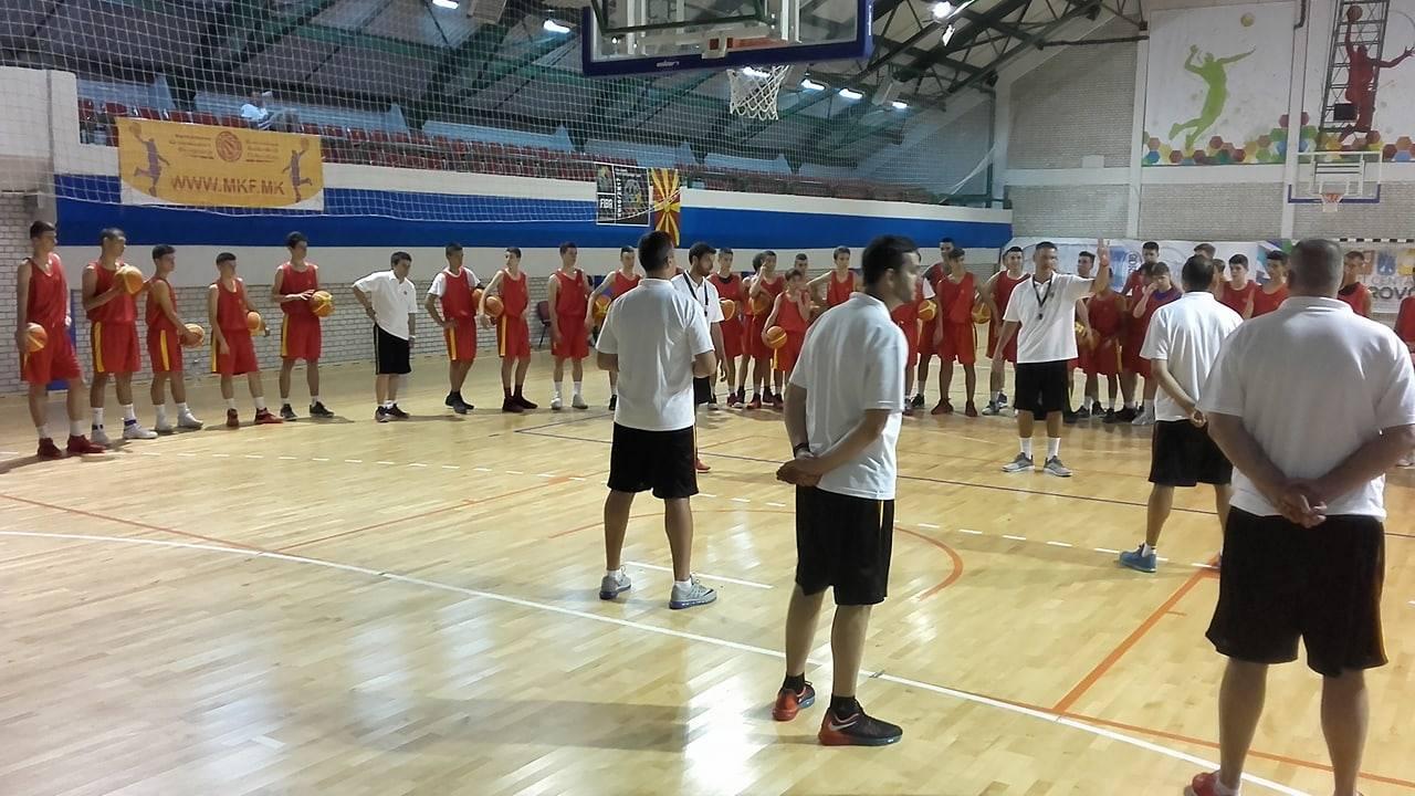 Започна кампот за млади кошаркари