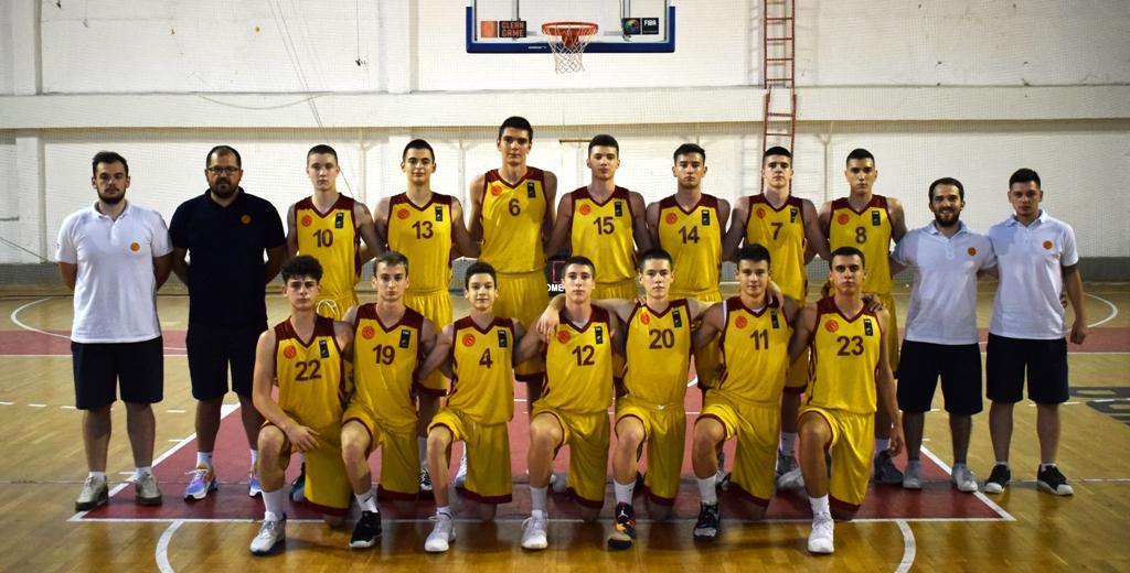 Две победи за кадетите на турнирот во Скопје